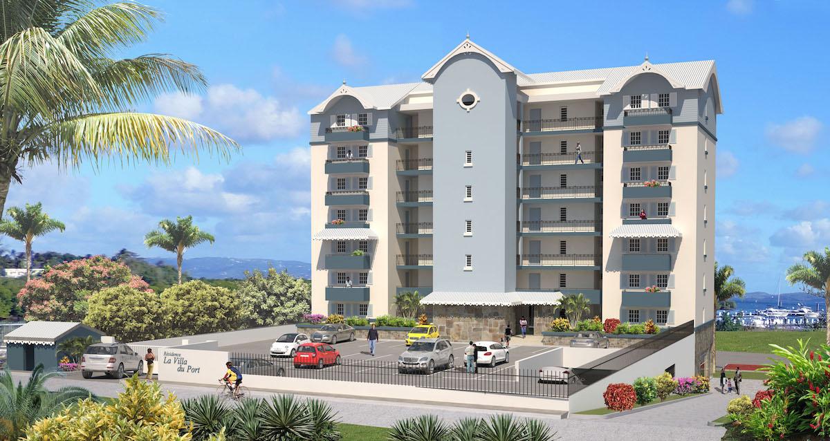 fort de france etang zabricots appartement neuf en vefa avec vue mer. Black Bedroom Furniture Sets. Home Design Ideas